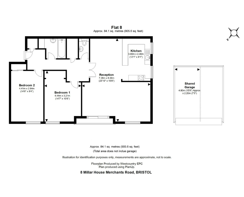 Merchants Road, Clifton - Floor Plans