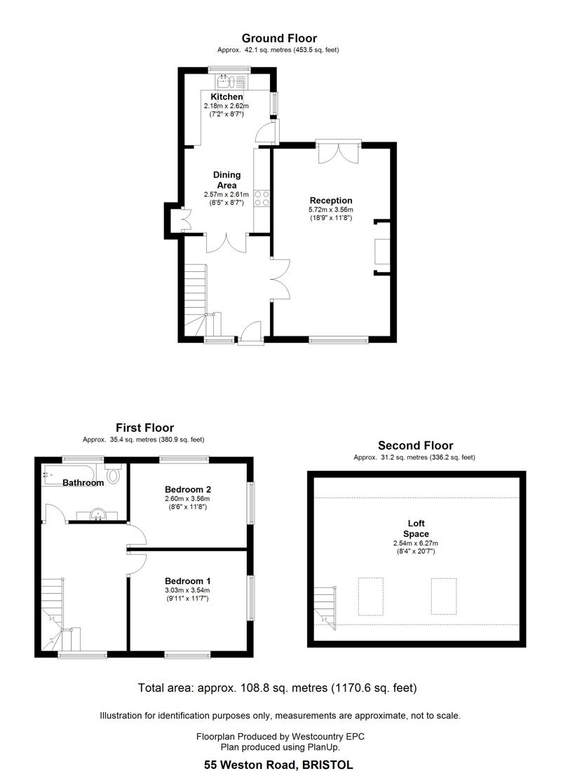 Weston Road, Failand - Floor Plans