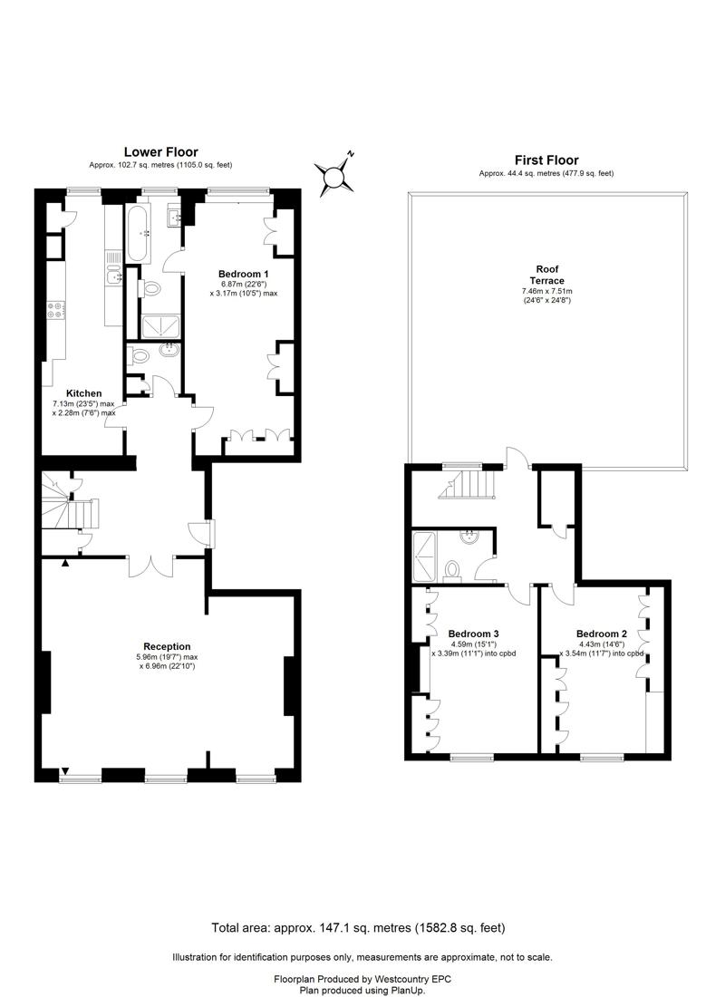 Royal York Crescent, Clifton - Floor Plans
