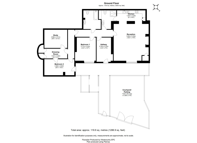 1-2 Lansdown Place, Clifton - Floor Plans