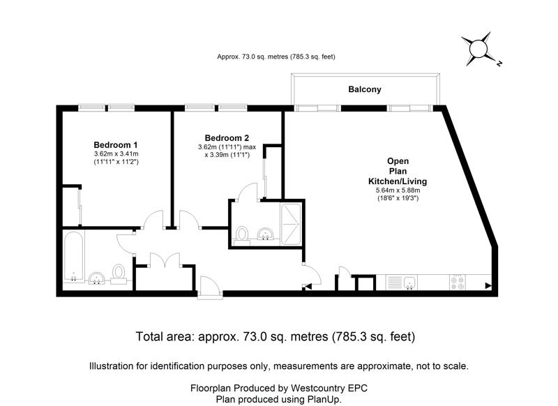 Lewins Mead, City Centre - Floor Plans