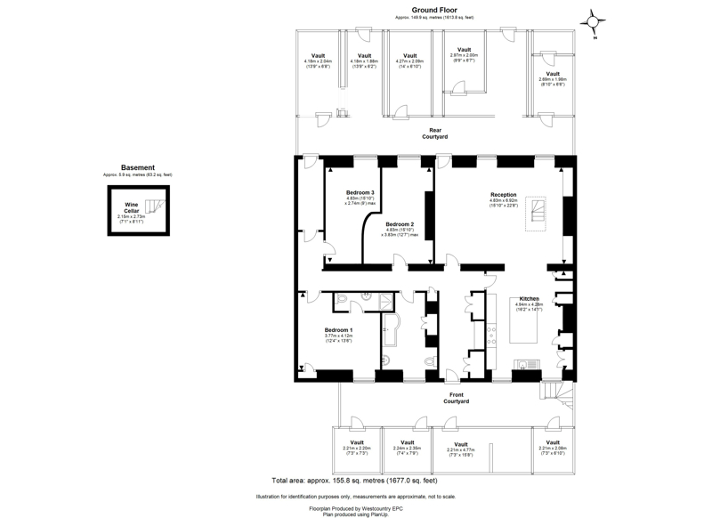 Cornwallis Crescent, Clifton - Floor Plans