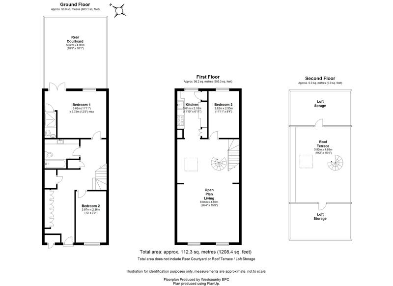 Waterloo Street, Clifton - Floor Plans