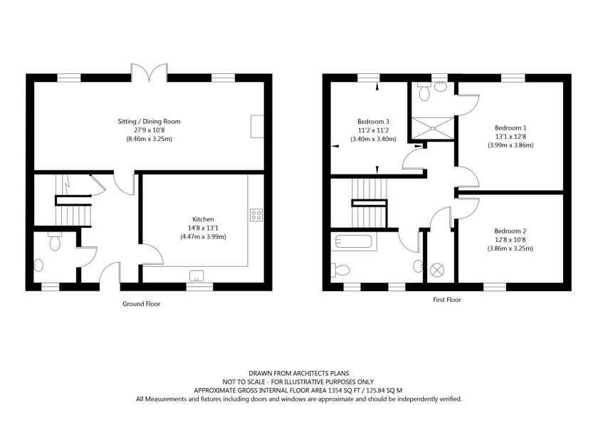 4  Mount Farm Mews, Chapel Lane, Westow, York property floorplan