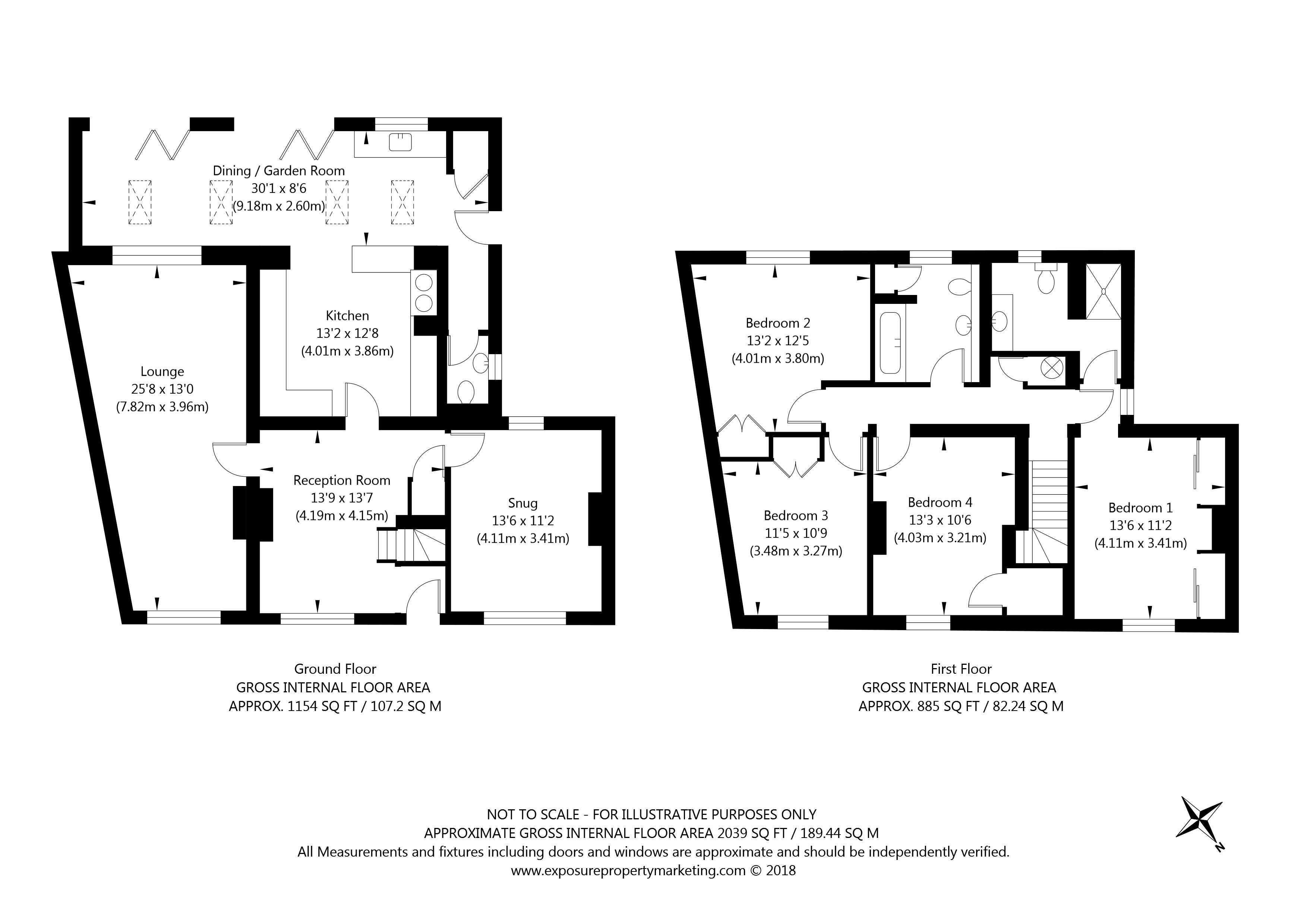 26 Church Street, Dunnington, York property floorplan