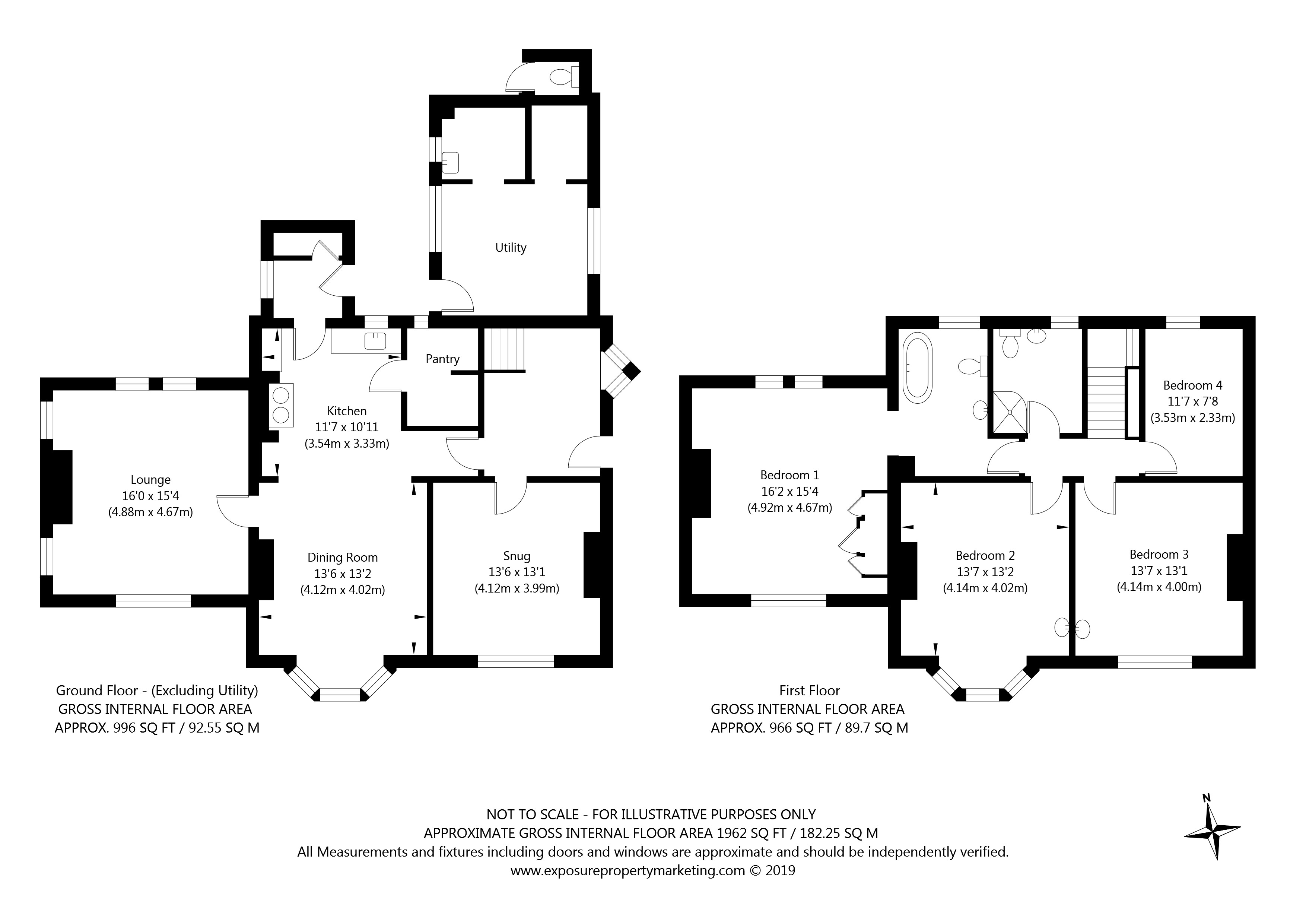 The Hollies, Temple Lane, Copmanthorpe, York property floorplan