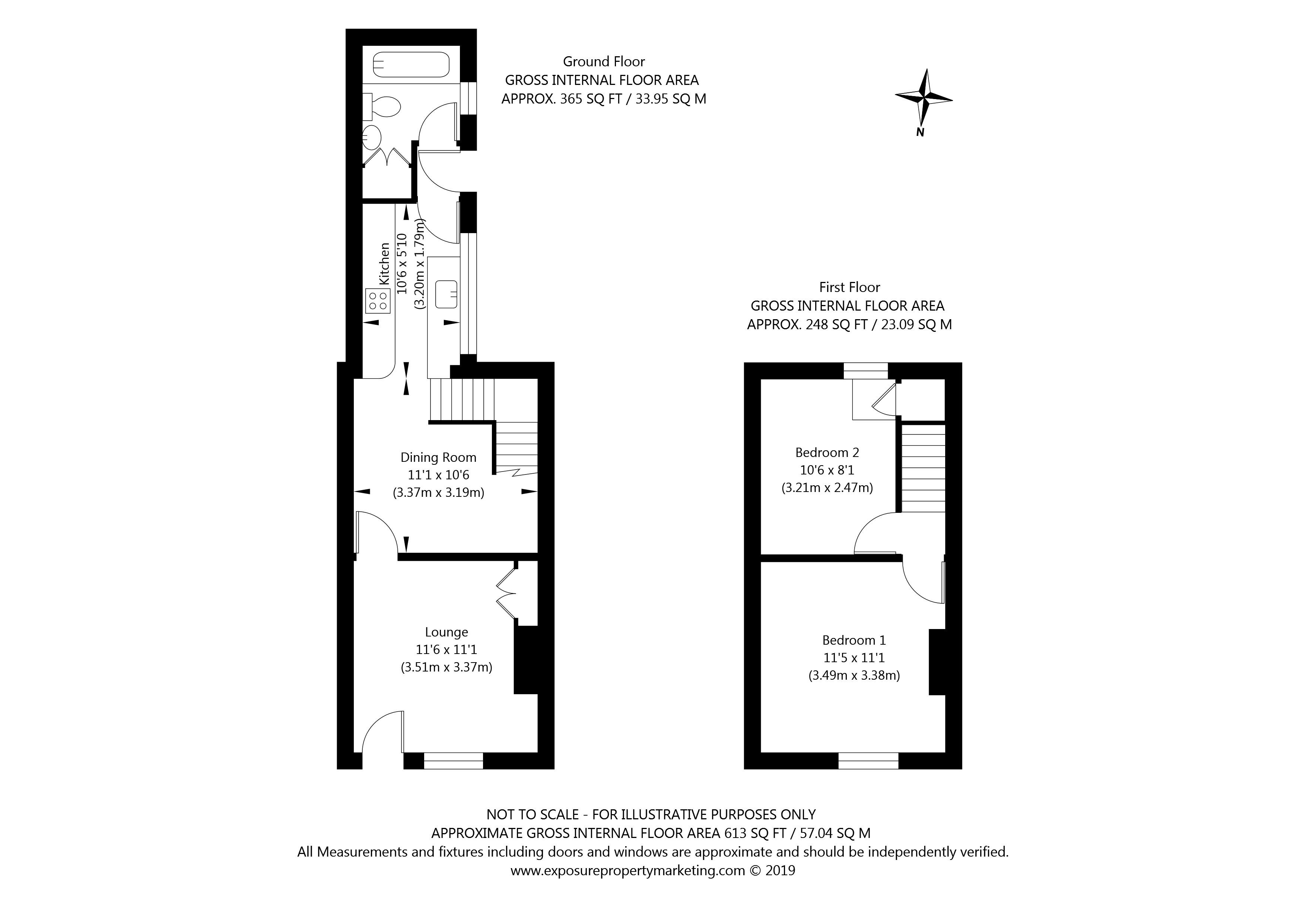 94 Brunswick Street, York property floorplan