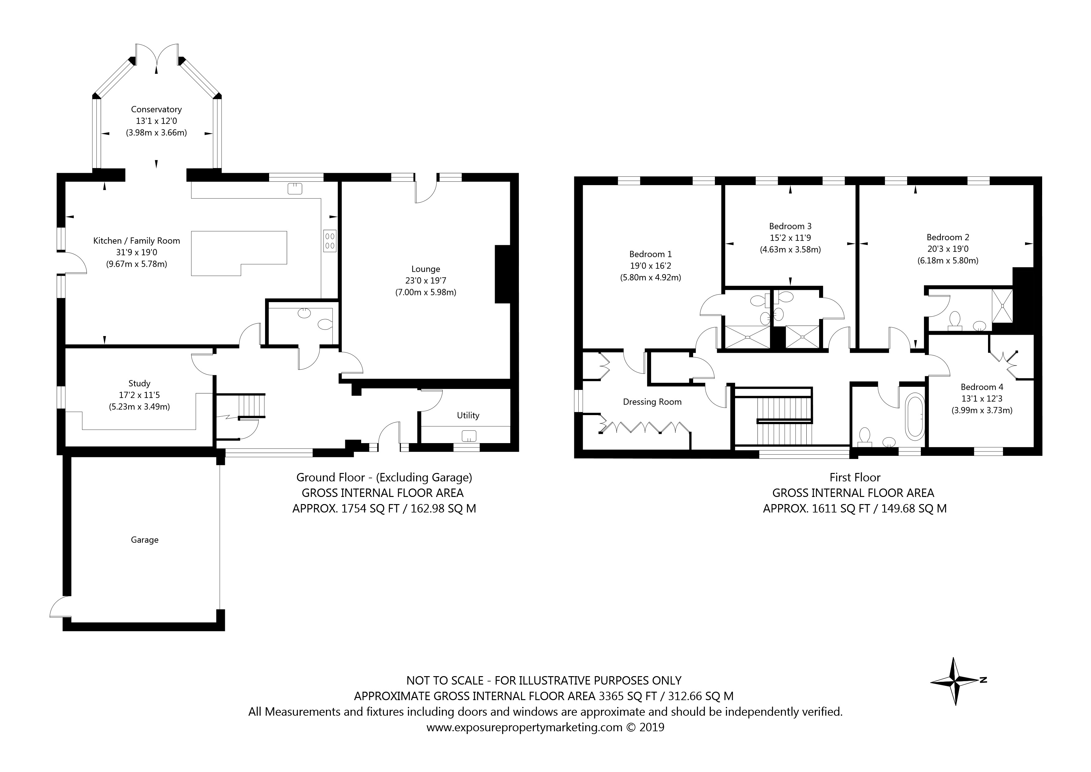 The Coach House  Southfield Grange, Appleton Roebuck, York property floorplan