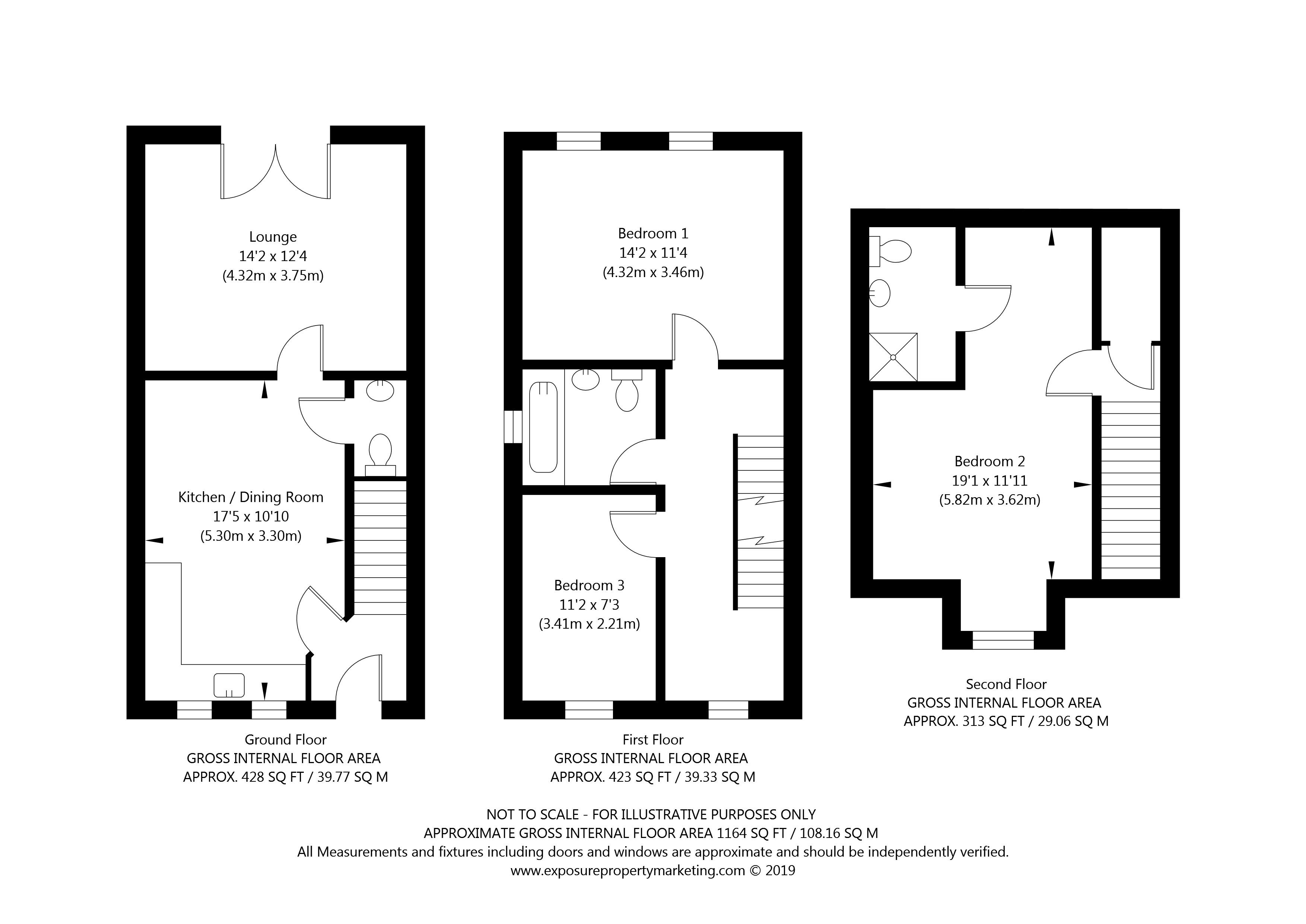 The Cranswick Plot 7 Woldgate Pastures, Kilham, York property floorplan