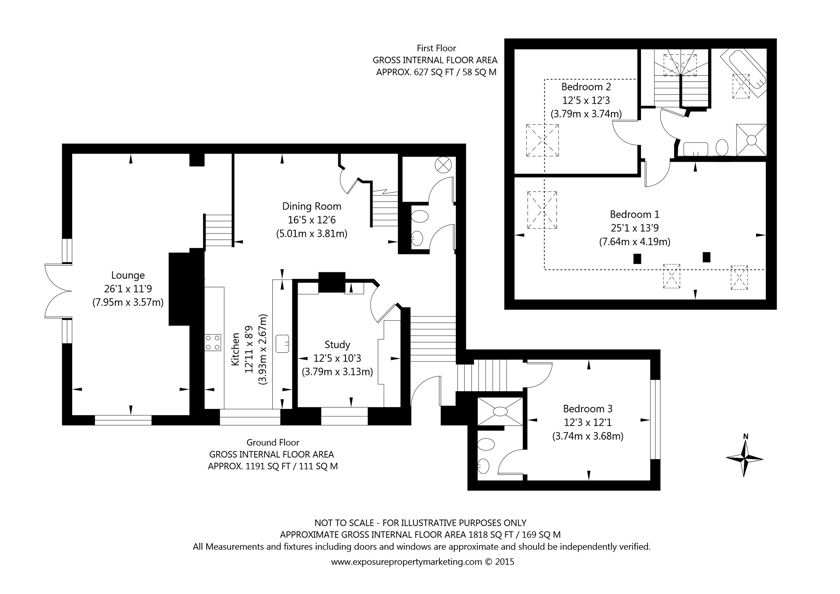 Sand Hutton Court , Sand Hutton, York property floorplan