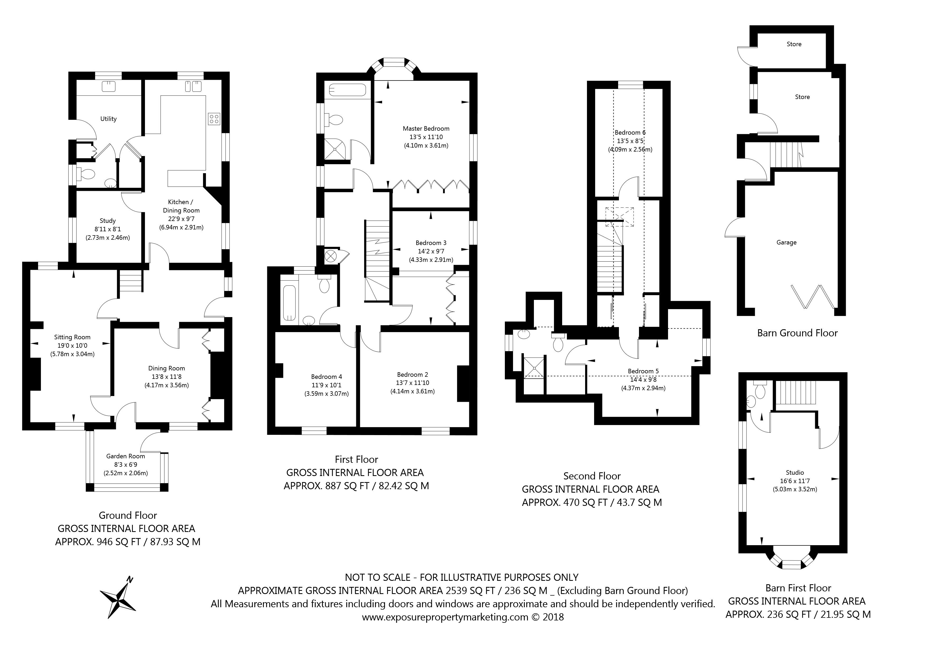 The Green, Stillingfleet, York property floorplan
