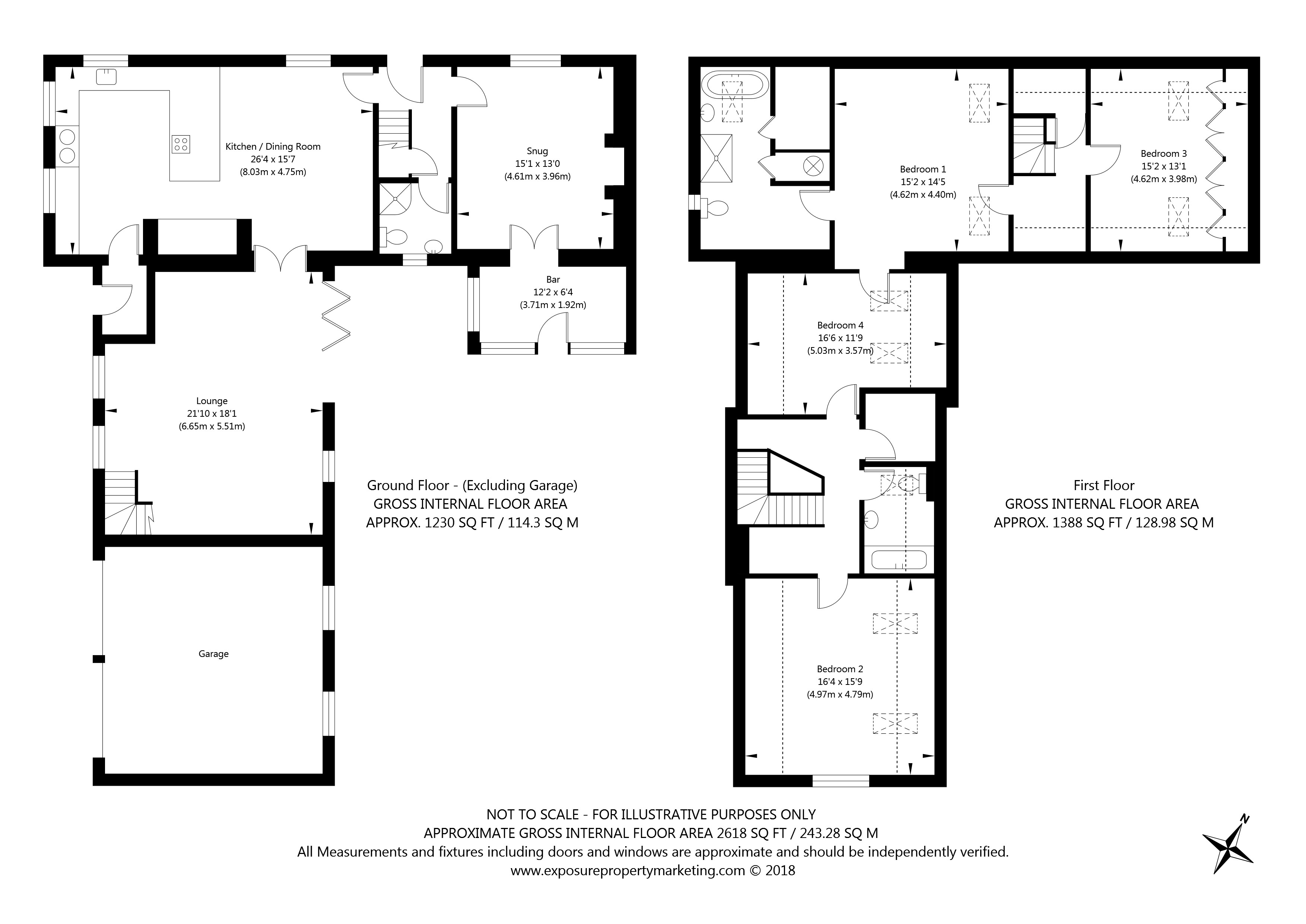 The Green, Stillingfleet, York property floorplan