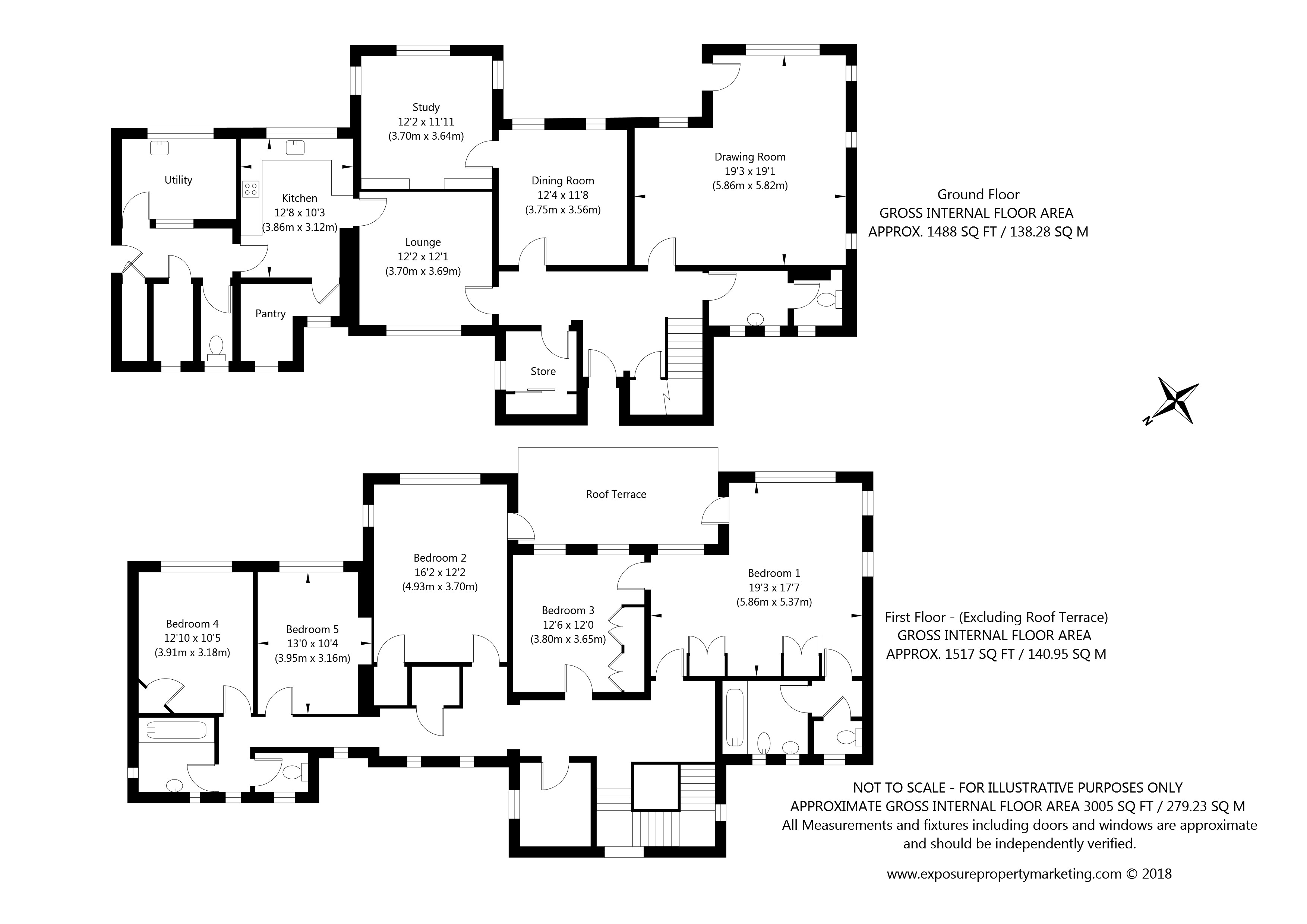 53 Hillfield House, Askham Lane, York property floorplan