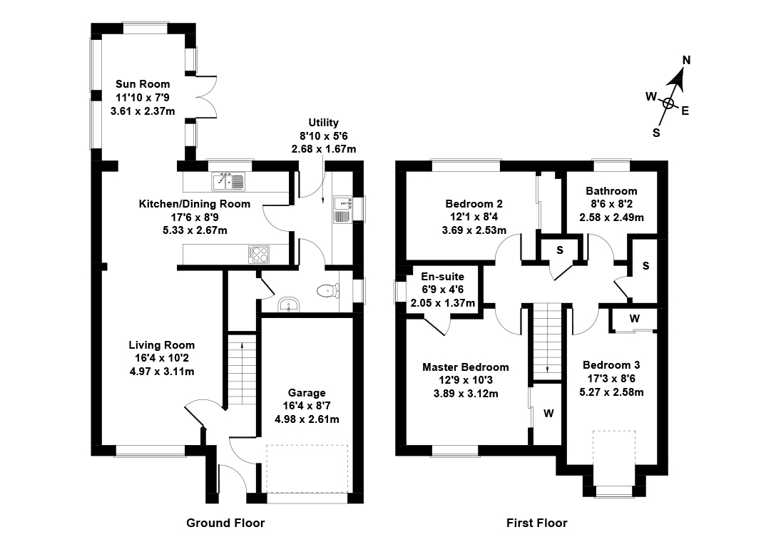 Floorplan 1 of 11 Alice Hamilton Court, West Linton, Scottish Borders, EH46 7JJ