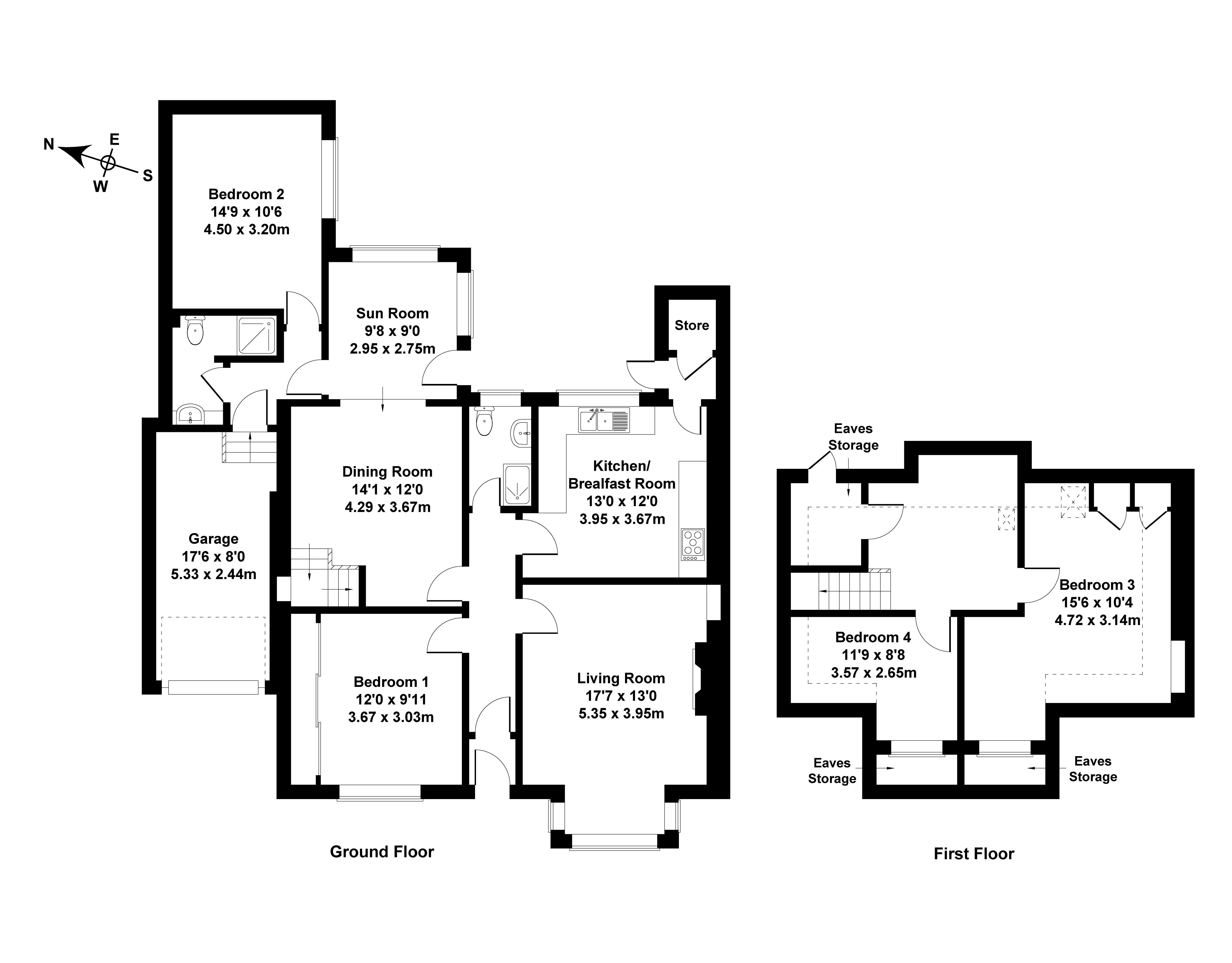 Floorplan 1 of 54 Craigmount Avenue North, Edinburgh, EH12 8DL