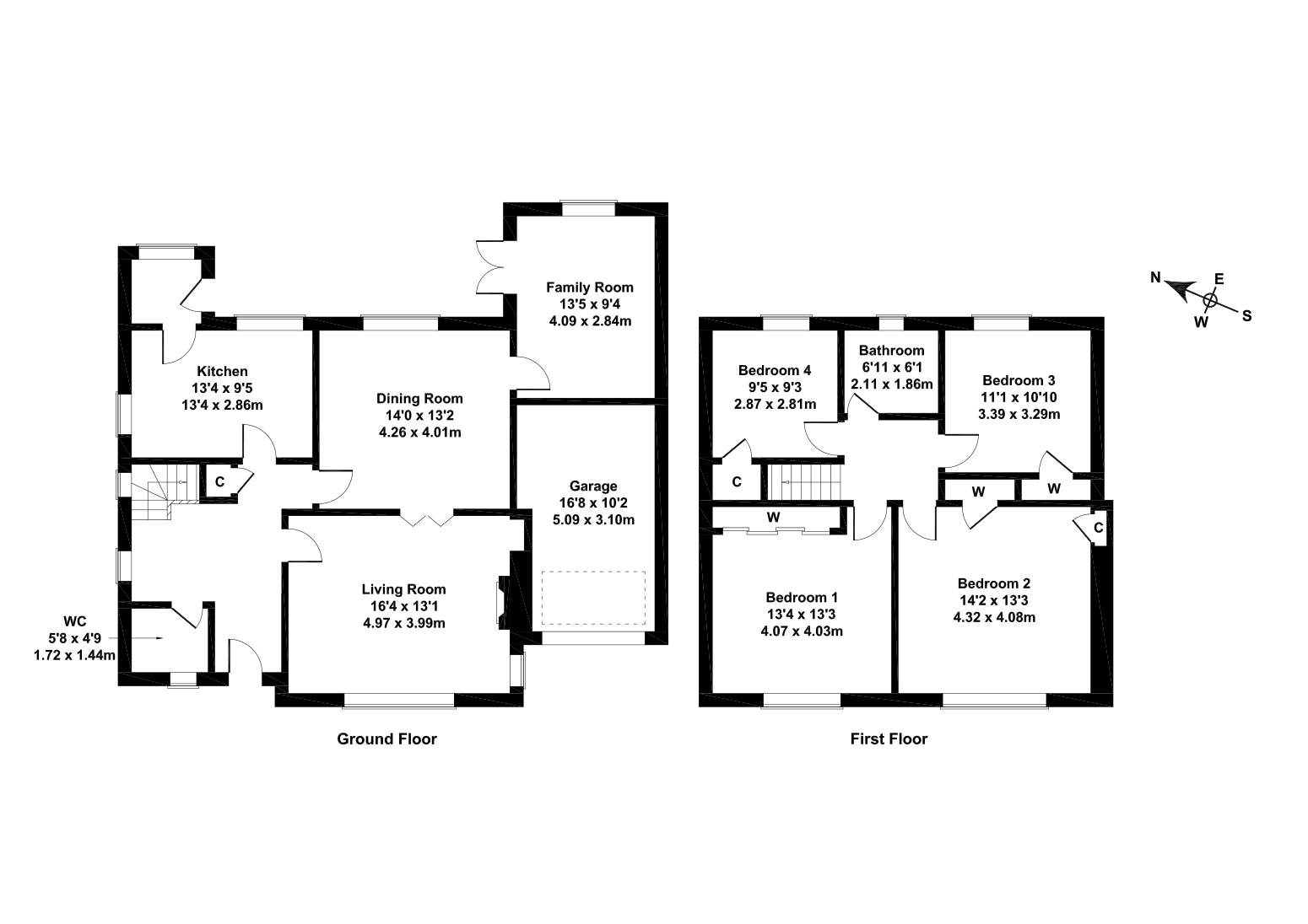 Floorplan 1 of 10 Hillpark Way, Blackhall, Edinburgh, EH4 7BJ