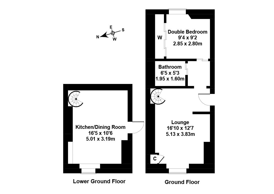 Floorplan 1 of 255/2, Newhaven Road, Newhaven, Edinburgh, EH6 4LQ