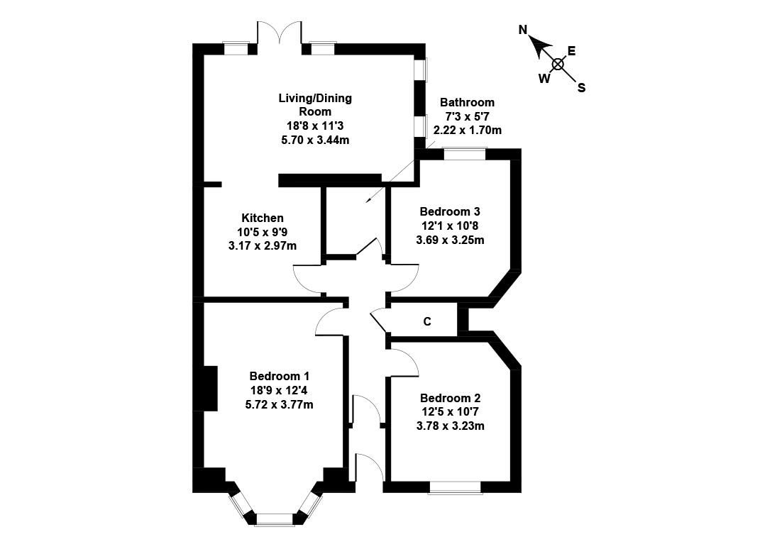 Floorplan 1 of 21 Parkgrove Avenue, Barnton, Edinburgh, EH4 7QJ