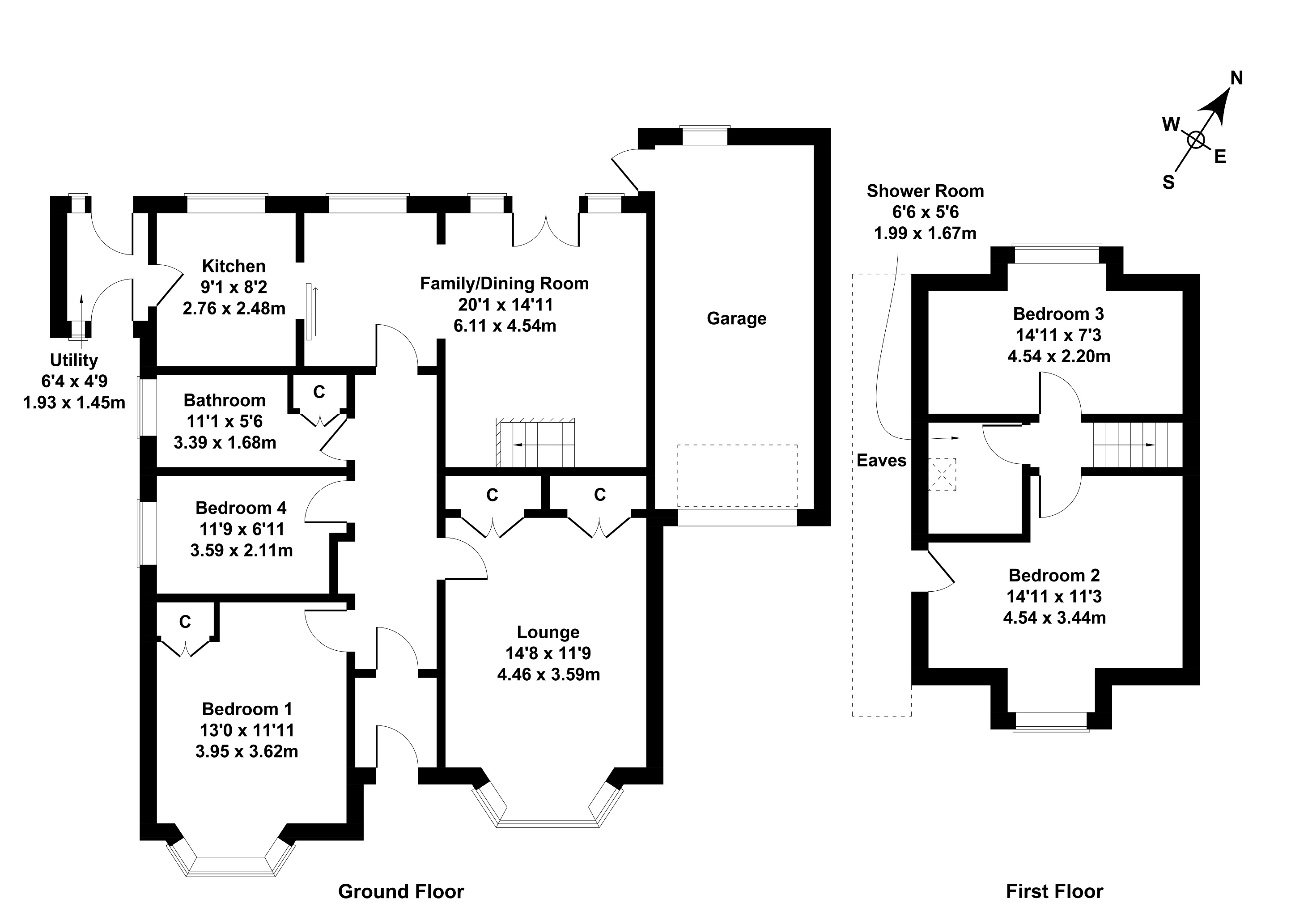 Floorplan 1 of 4 Cramond Terrace, Cramond, Edinburgh, EH4 6PN