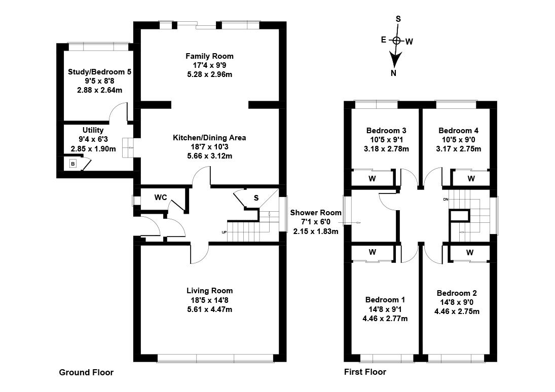 Floorplan 1 of  37 Cramond Gardens, Edinburgh, EH4 6PT
