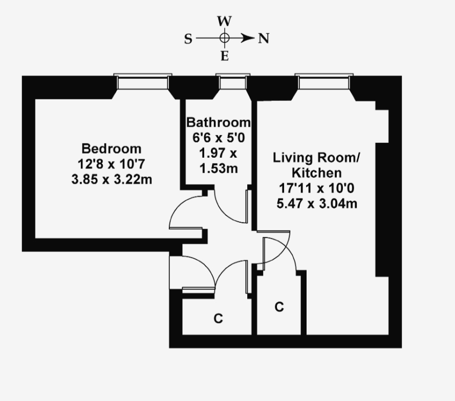 Floorplan 1 of 9/9, Peffer Street, Duddingston, Edinburgh, EH16 4BA