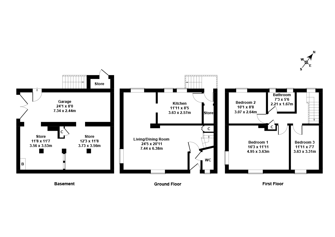 Floorplan 1 of 22 Camus Avenue, Fairmilehead, Edinburgh, EH10 6QT
