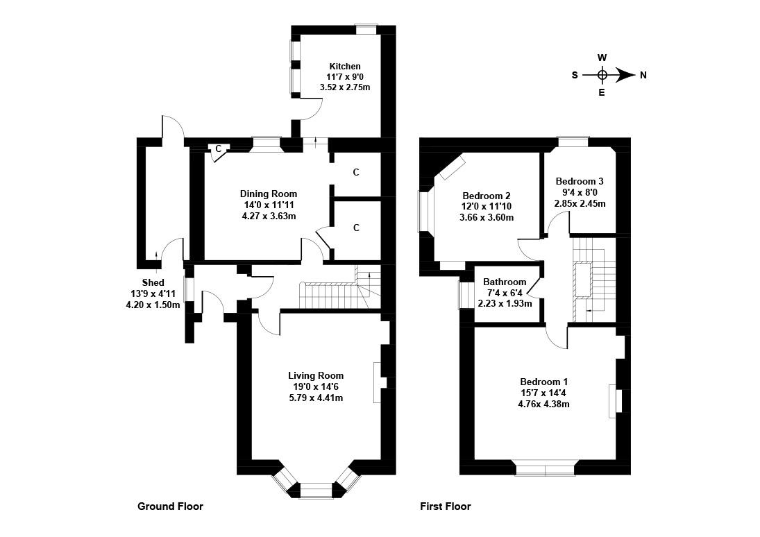 Floorplan 1 of 3 Dell Road, Colinton, Edinburgh, EH13 0JR