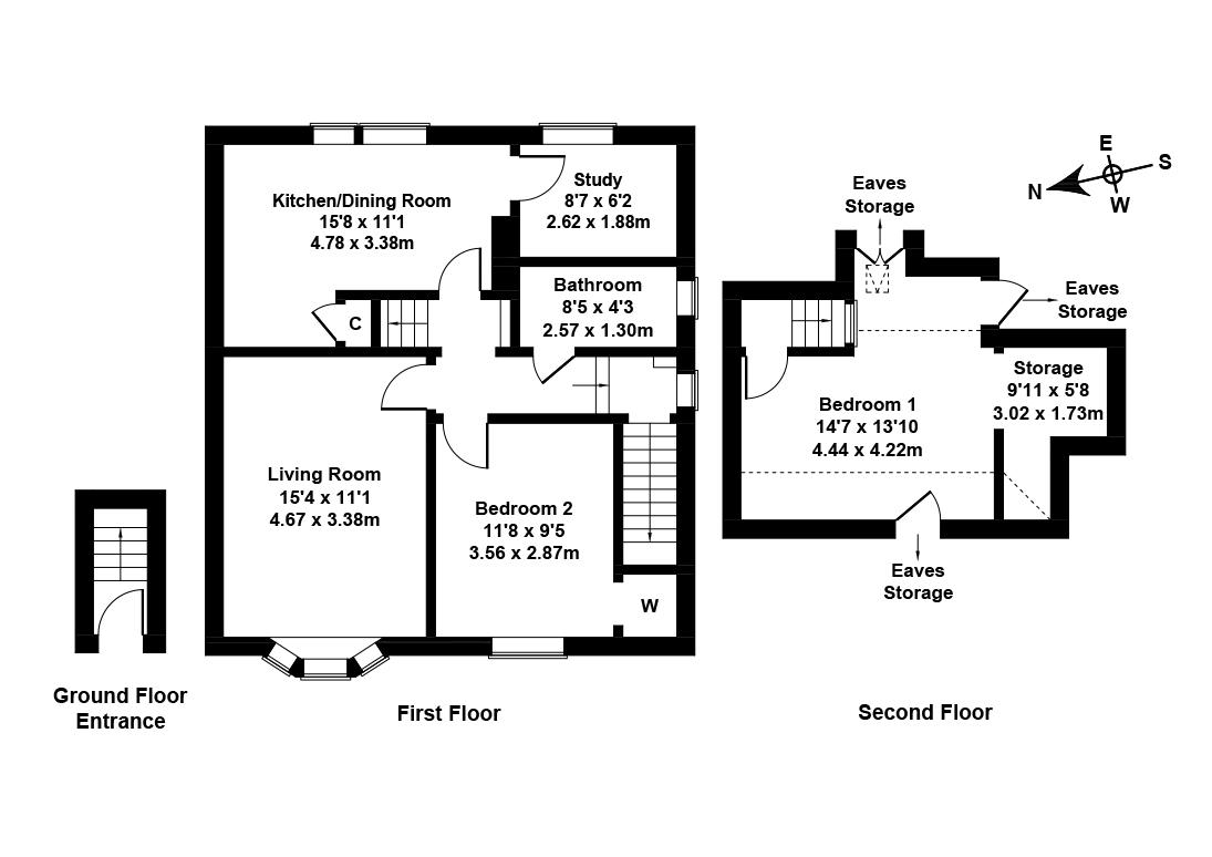 Floorplan 1 of 173 Colinton Mains Drive, Colinton, Edinburgh, EH13 9AF