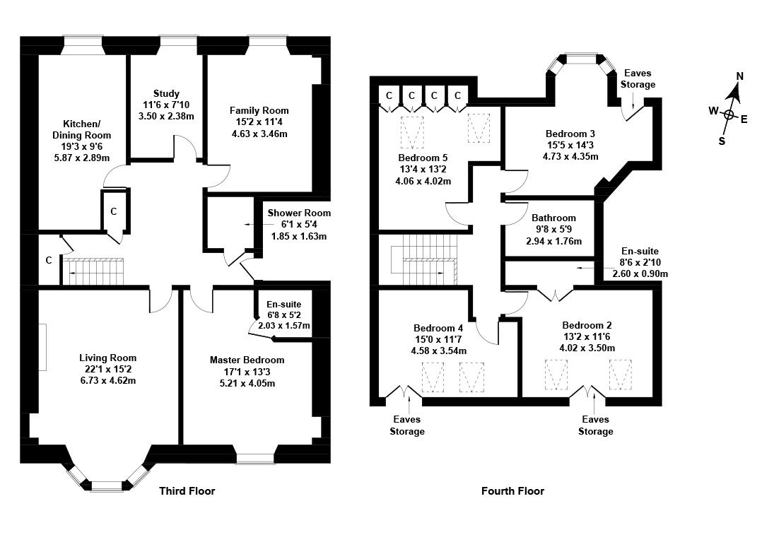 Floorplan 1 of 31/5, Gillespie Crescent, Bruntsfield, Edinburgh, EH10 4HX