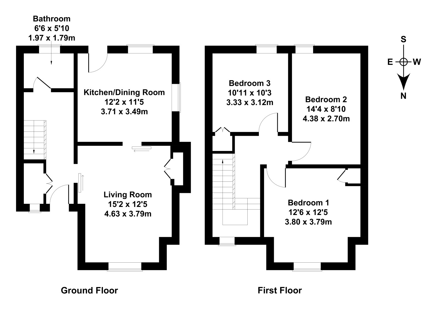 Floorplan 1 of 38 Station Road, South Queensferry, City of Edinburgh, EH30 9JX