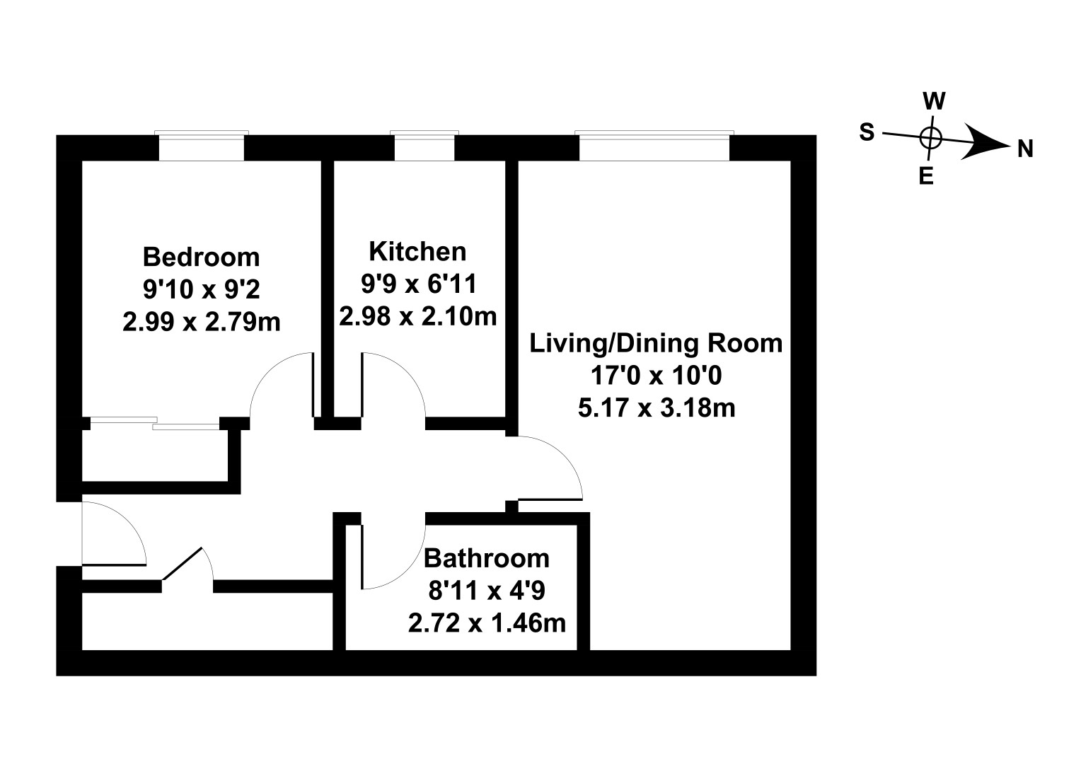 Floorplan 1 of 9/14, Harrismith Place, Easter Road , Edinburgh, EH7 5PA