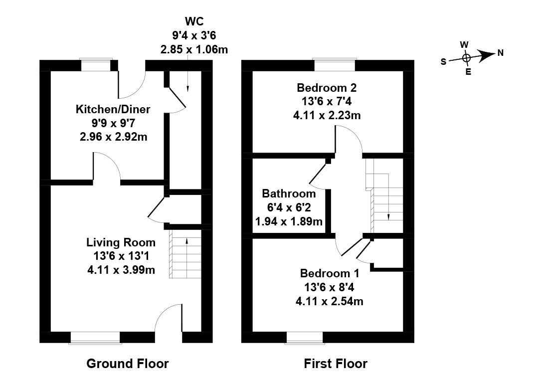 Floorplan 1 of 31 Lignieres Way, Dunbar, East Lothian, EH42 1FD