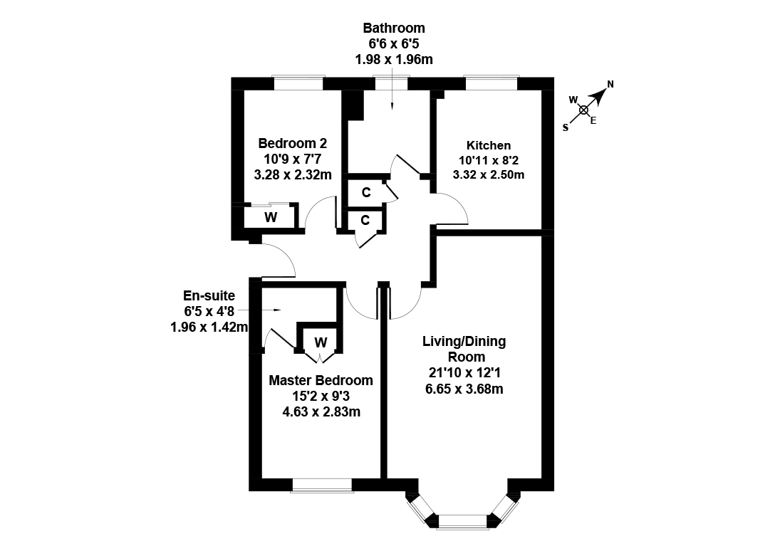 Floorplan 1 of 14/1, Duff Street, Dalry, Edinburgh, EH11 2HG
