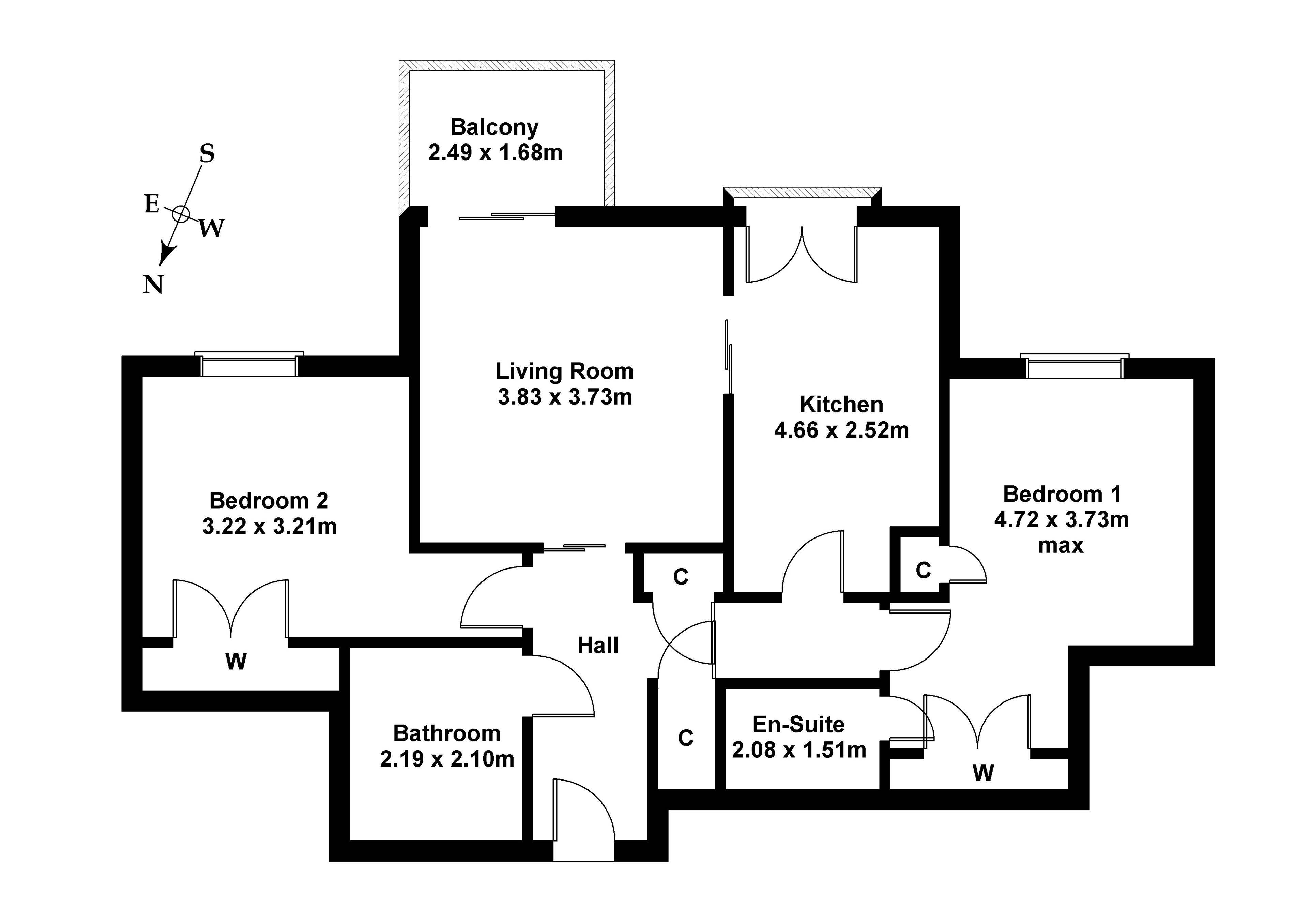 Floorplan 1 of 4/11, East Pilton Farm Avenue, East Fettes, Edinburgh, EH5 2GA