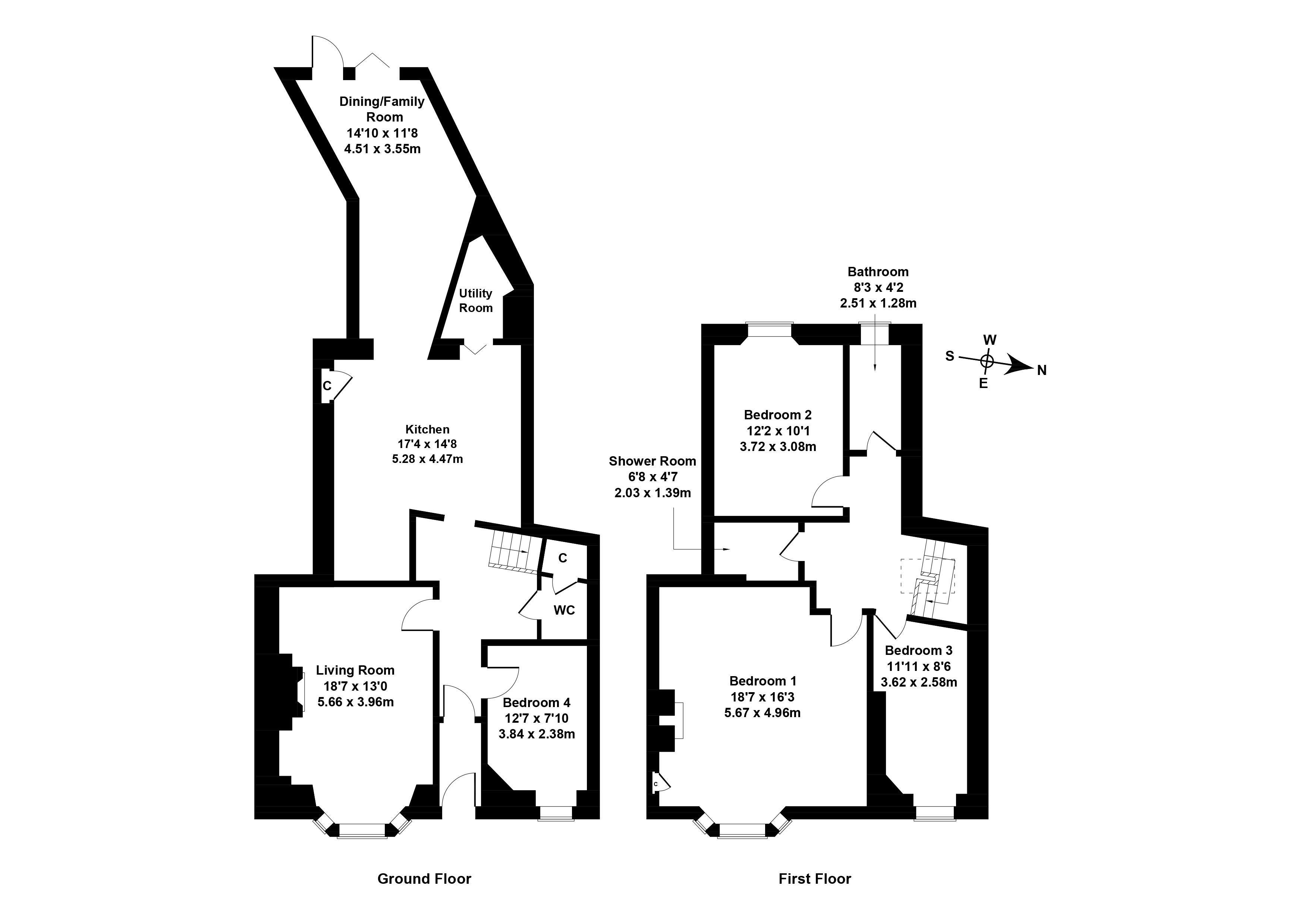 Floorplan 1 of 22 Lismore Crescent, Willowbrae, Edinburgh, EH8 7DL