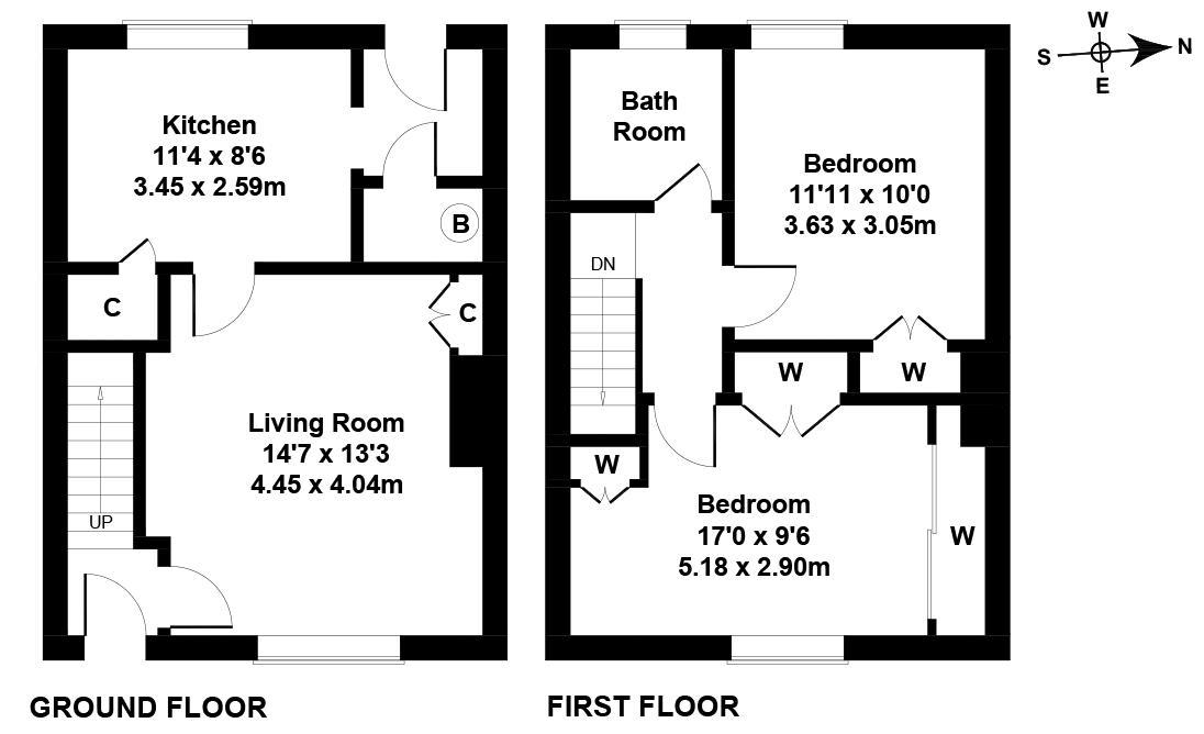Floorplan 1 of 6 Laurel Bank, Dalkeith, Midlothian, EH22 2JG