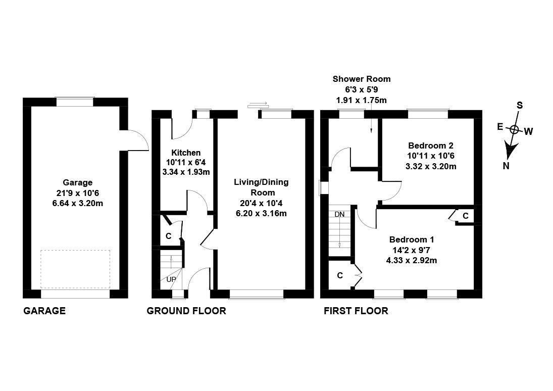 Floorplan 1 of  13 Letham Place, Pumpherston, Livingston, West Lothian, EH53 0NJ