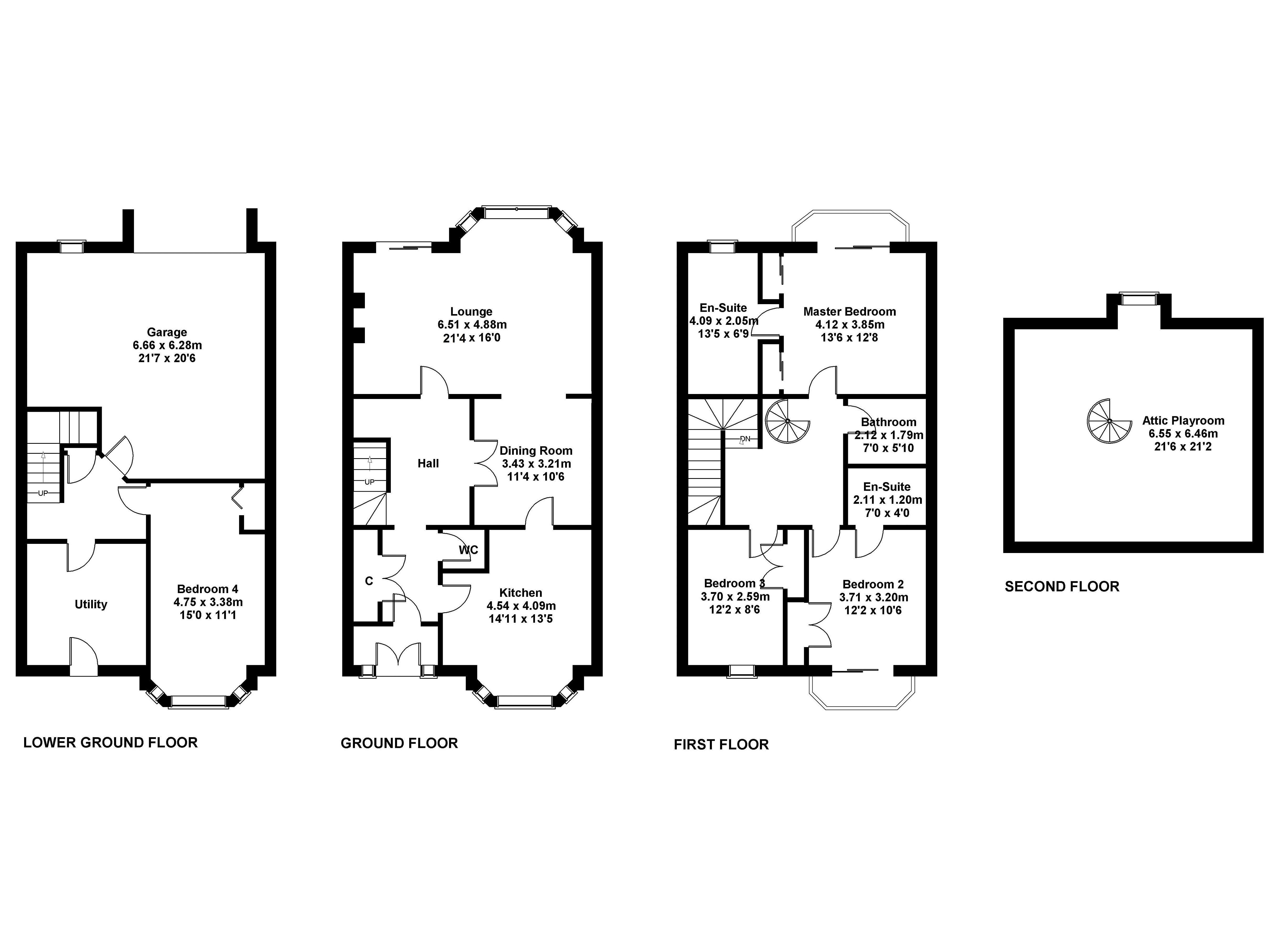 Floorplan 1 of 4 Mid Steil, Edinburgh, EH10 5XB