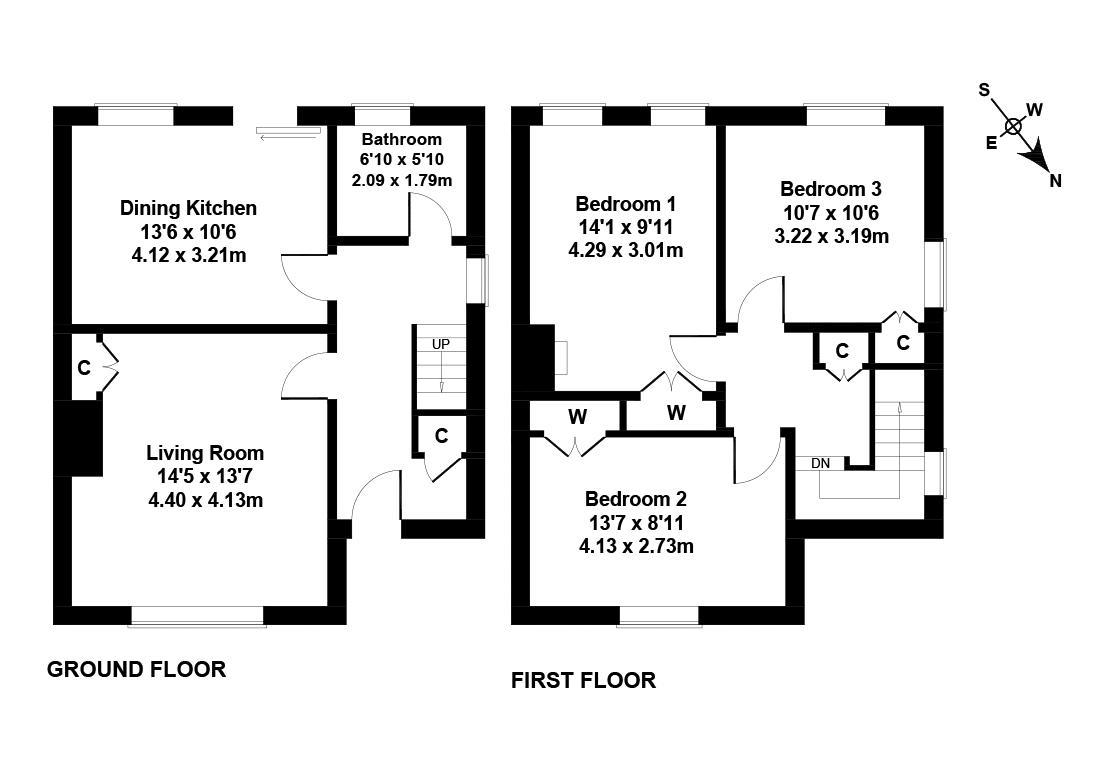 Floorplan 1 of 7 Craigour Crescent, Edinburgh, EH17 7PN
