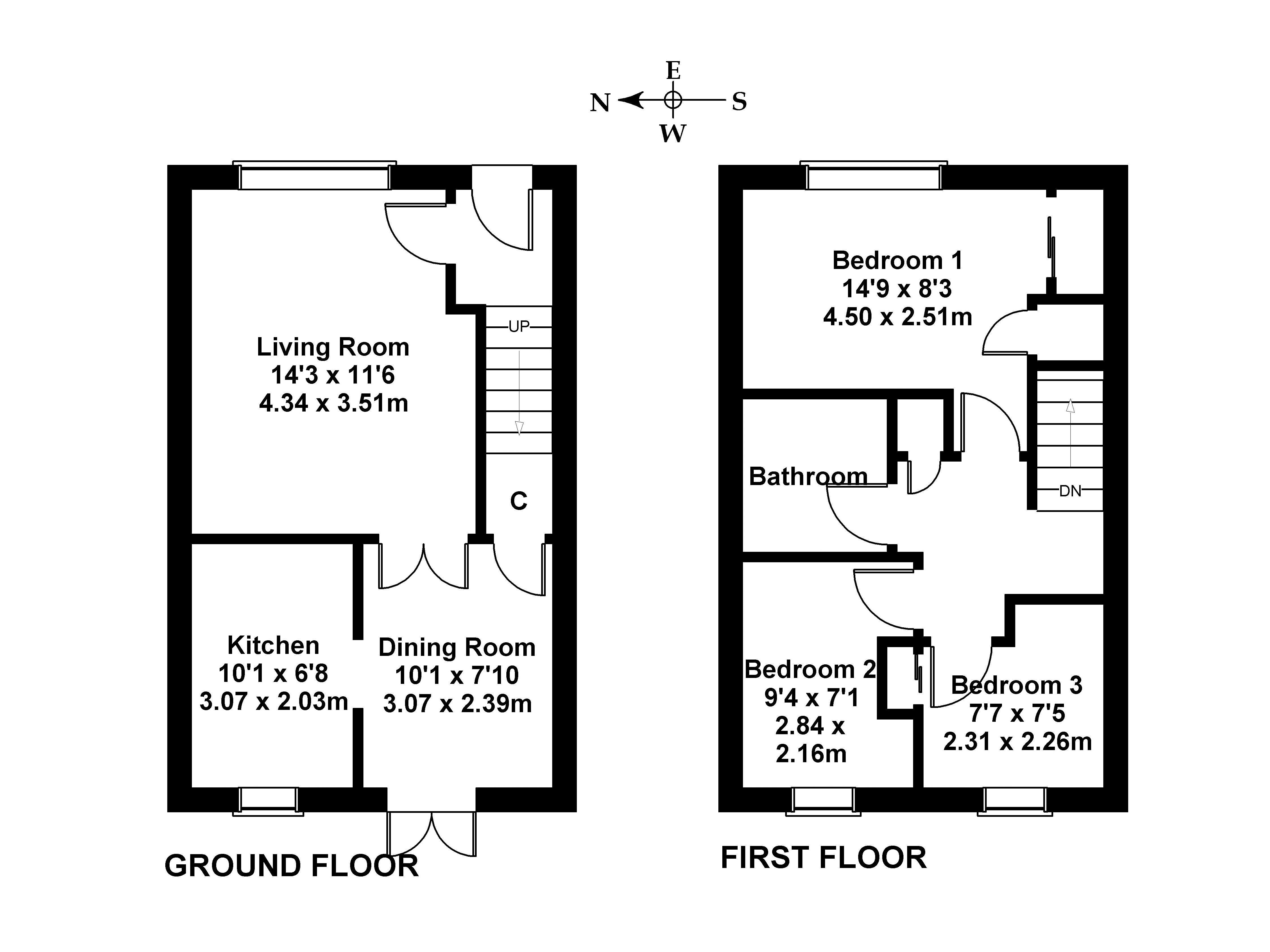 Floorplan 1 of 6 West Windygoul Gardens, Tranent, East Lothian, EH33 2LA