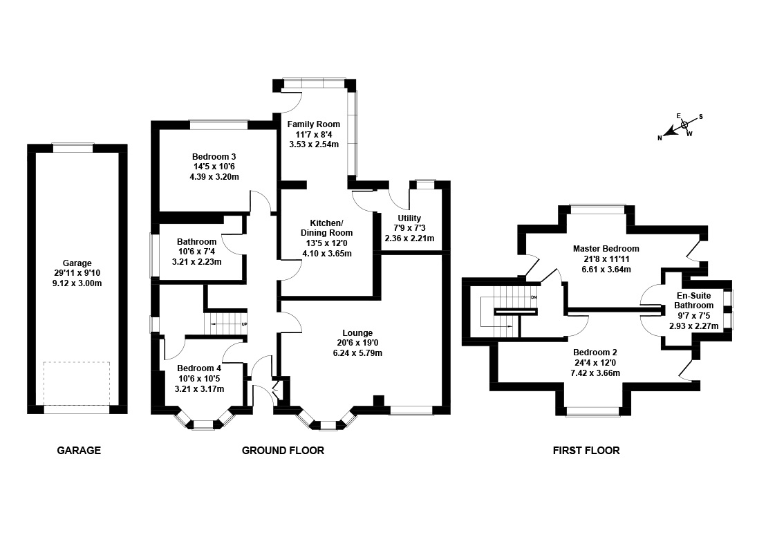 Floorplan 1 of 67 Saughton Road North, Corstorphine, Edinburgh, EH12 7JB