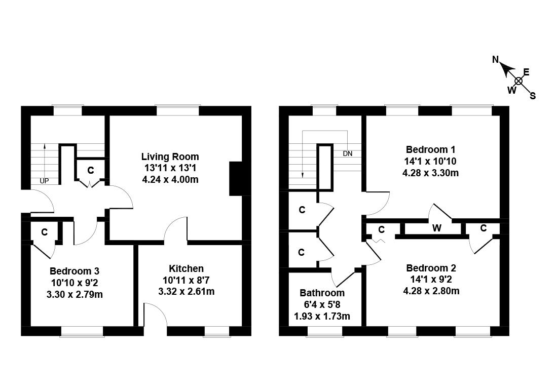 Floorplan 3 of 29 Easter Drylaw Drive, Easter Drylaw, Edinburgh, EH4 2QT