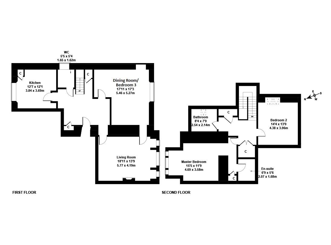 Floorplan 1 of 64/2, Camus Avenue, Fairmilehead, Edinburgh, EH10 6QX