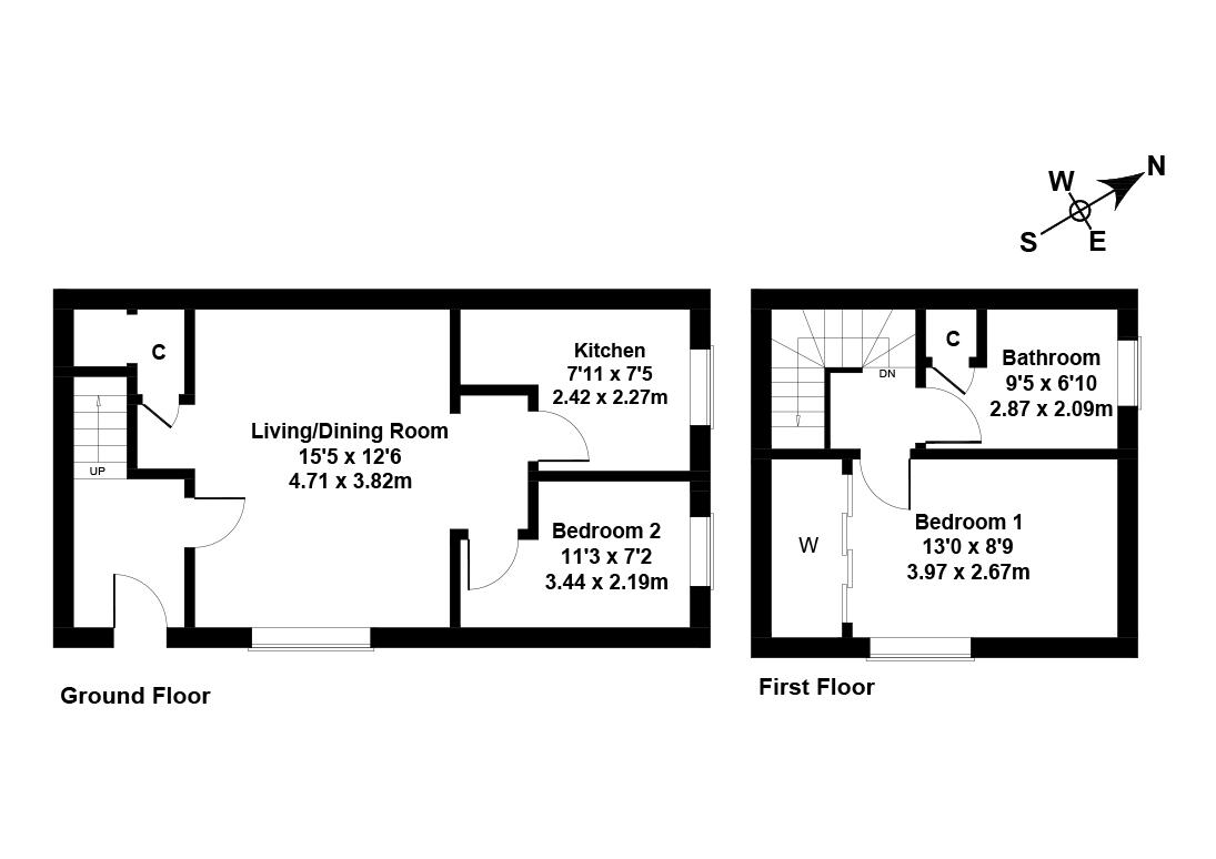 Floorplan 1 of 34 Links Walk, Port Seton, East Lothian, EH32 0TW