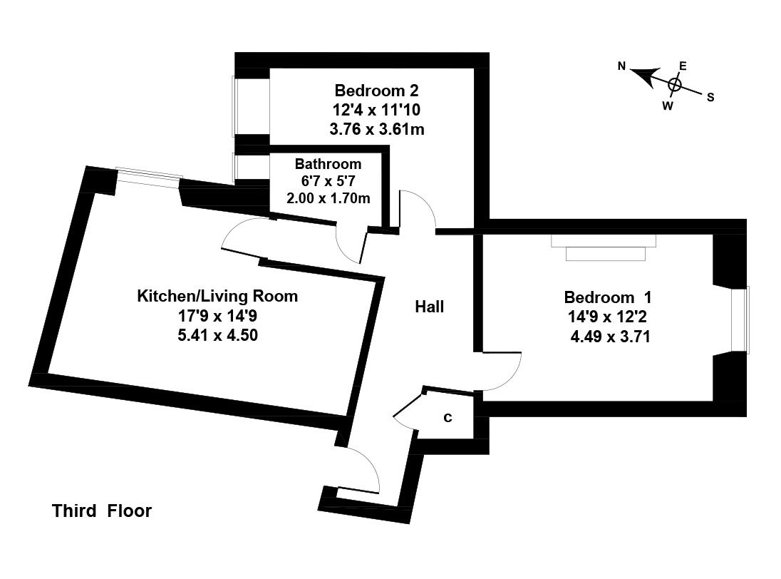 Floorplan 1 of 4/10, Wheatfield Street, Gorgie, Edinburgh, EH11 2NY