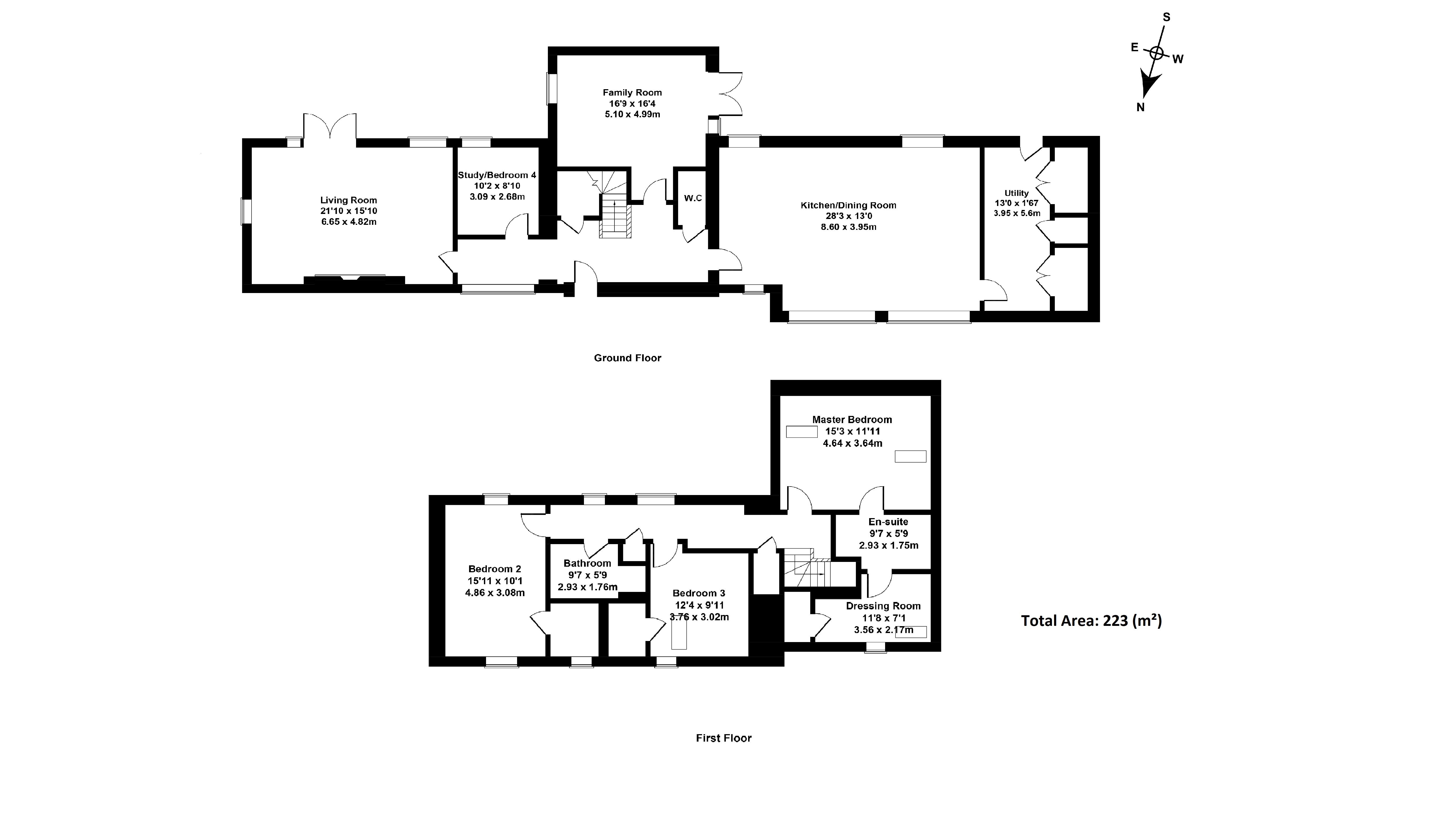 Floorplan 1 of 5  Wester Pike Mains, Auchendinny Mains Farm, Penicuik, Midlothian, EH26 8PG