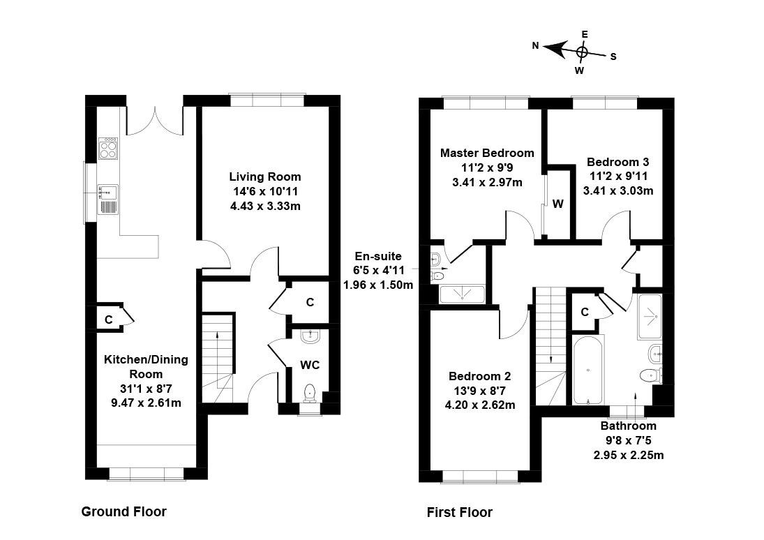 Floorplan 1 of 5 Toll House Neuk, Tranent, East Lothian, EH33 2QU