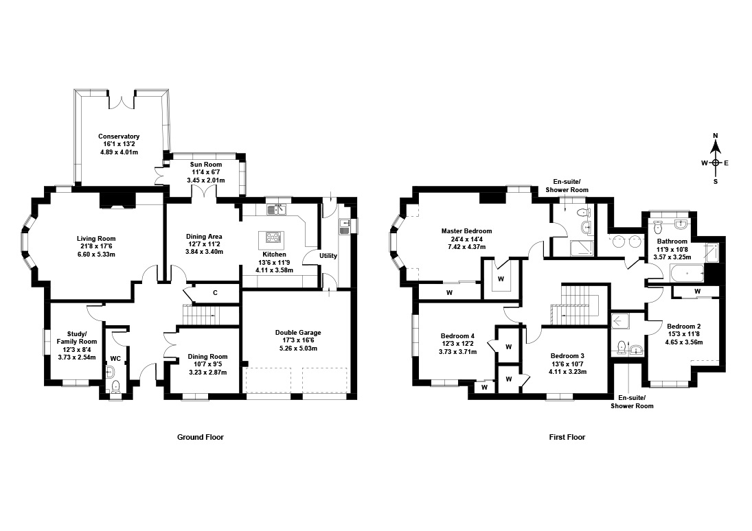 Floorplan 1 of 34 Dreghorn Link, Colinton, Edinburgh, EH13 9QR