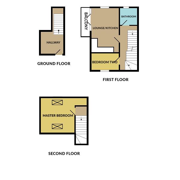 Floorplan for Cranleigh Court Road, Yate.