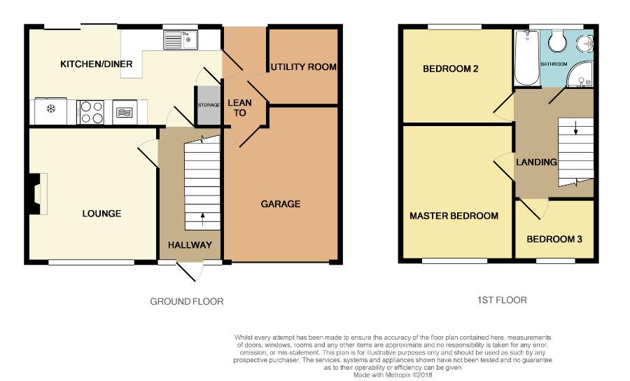 Floorplan for Lower Chapel Lane, Frampton Cotterell.
